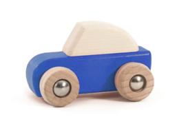 Bajo Houten Pullback auto, blauw