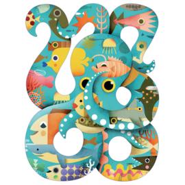 Djeco Puzzel 'Octopus', 350 st, 62x46 cm