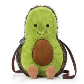 Jellycat Avocado Tasje, Amuseable Avocado Bag, 25cm