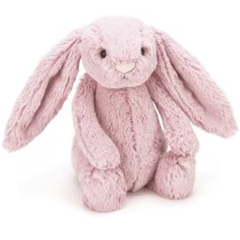 Jellycat  Knuffel Konijn 31cm, Bashful Bunny Tulip Pink