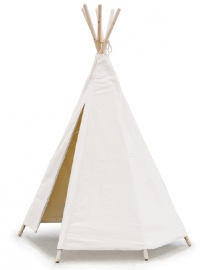Vilac Tipi Speeltent, Ecru/Naturel