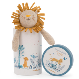 Moulin Roty Knuffel Leeuw in geschenkdoos, Paprika