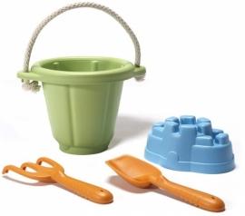 Green Toys Strandset / Zandbak speelgoed, groen