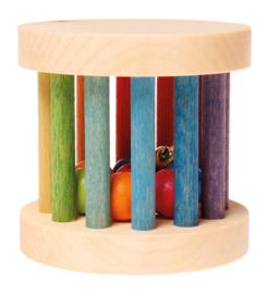 Grimm's Mini Rollend Wiel, regenboogkleuren