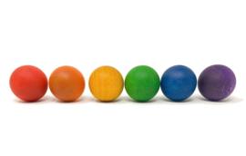 Grapat 6 houten Ballen