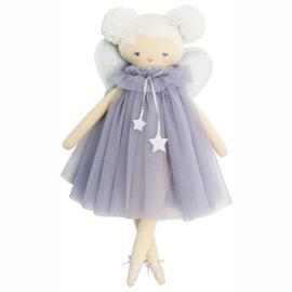 Alimrose Knuffelpop, Annabelle Fairy Doll Lavender, 48 cm