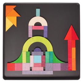 Grimm's Magneetpuzzel Geo-Grafisch