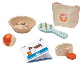 Plan Toys Houten Dieren Verzorgingsset