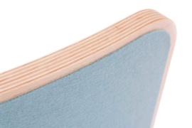 Wobbel XL blank gelakt - vilt lucht - vanaf 140 cm