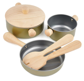 Plan Toys Pannenset 'Cooking Utensils'