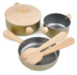 Plan Toys Pannenset 'Cooking Utensils'