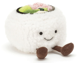Jellycat Knuffel Sushi, Silly Sushi California, 11cm