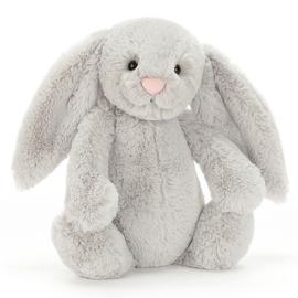 Jellycat Knuffel Konijn 31cm, Bashful Bunny Silver