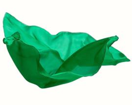 Sarah's Silks Speelzijde, Smaragdgroen, 89 x 89 cm
