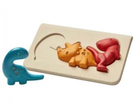 Plan Toys houten puzzel Dino's