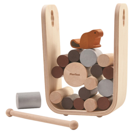 Plan Toys Behendigheidsspel, Timber Tumble