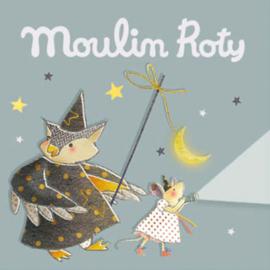3 extra schijfjes voor Moulin Roty Verhaaltjeslamp, Il etait une fois, Grijs