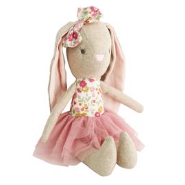 Alimrose Knuffel Konijn, Baby Pearl Bunny Blush, 26 cm