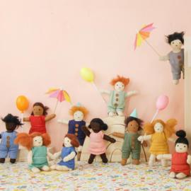 Olli Ella Holdie Folk poppenhuispopje Hazel 11 cm