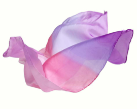 Sarah's Silks Speelzijde, Enchanted Playsilk, Bloesem, 89 x 89 cm