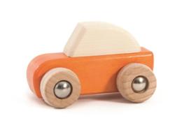 Bajo Houten Pullback auto, oranje