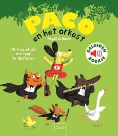 Paco en het Orkest - Geluidenboekje - Clavis