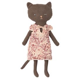 Maileg Knuffel Poesje, Chatons, Kitten - Black, 24 cm