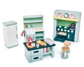Poppenhuis Keuken  - Tender Leaf Toys
