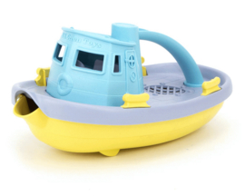 Green Toys Sleepboot Tugboat Pastel, Blauw