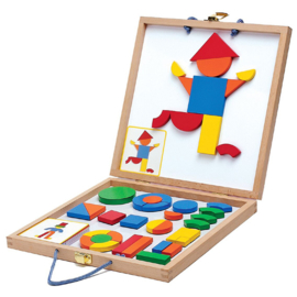 Djeco Magneetpuzzel in koffer