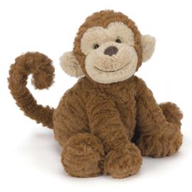 Jellycat Knuffel Aap 23cm, Fuddlewuddle Monkey