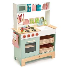 Keuken met complete inrichting - Tender Leaf Toys