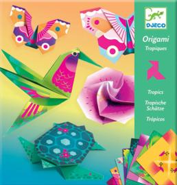 Djeco Origami Tropisch, 7+