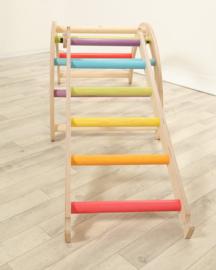 Ladder voor de Klimdriehoek Wee'UN - Regenboog
