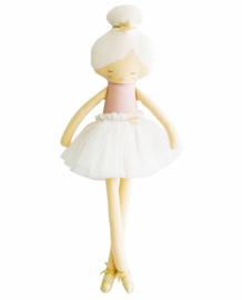 Alimrose Knuffelpop, Arabella Ballerina Pale Pink, 60 cm
