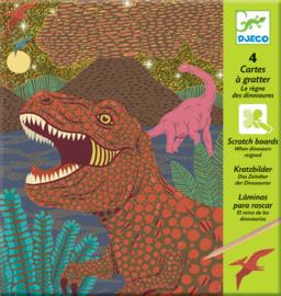 Djeco Krasplaten 'Dino's', 7+