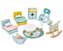 Poppenhuis Kinderkamer  - Tender Leaf Toys