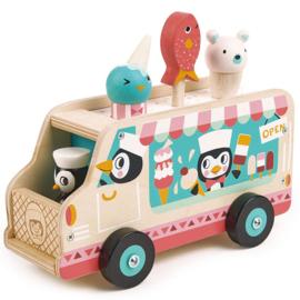 Pinguin's Ijskarretje - Tender Leaf Toys