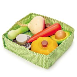 Mandje met groenten - Tender Leaf Toys