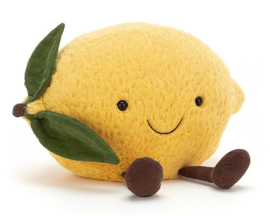 Jellycat Knuffel Citroen, Amuseable Lemon