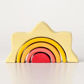 Raduga Grëz Houten Zon, Small Sun Arch Stacker, 5-delig