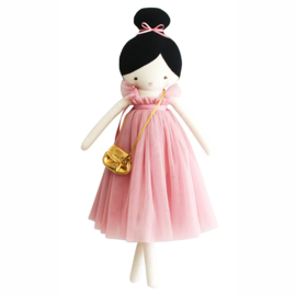 Alimrose Knuffelpop, Charlotte Doll Blush, 48 cm