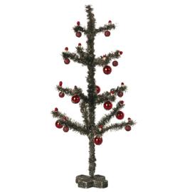 Maileg Miniatuur Kerstboom, Christmas tree - Antique silver, 23cm
