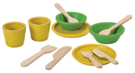 Plan Toys Houten Servies 12-delig