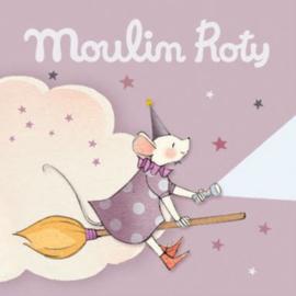 3 extra schijfjes voor Moulin Roty Verhaaltjeslamp, Il etait une fois, Roze