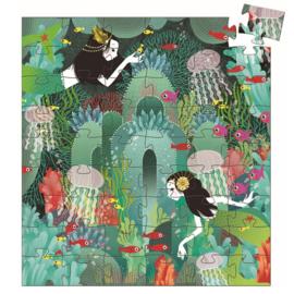 Djeco puzzel Onderwaterparadijs, 54 st, 40x37 cm