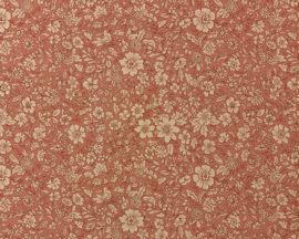 Maileg inpakpapier, Blossom Rose, 10 meter op rol