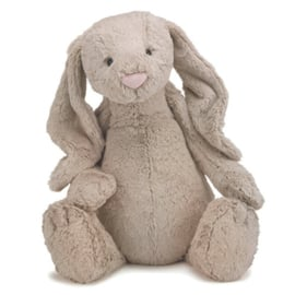 Jellycat Knuffel Konijn 51cm, Bashful Bunny Beige Huge