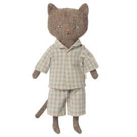 Maileg Knuffel Kat, Chatons, Kitten - Grey, 24 cm