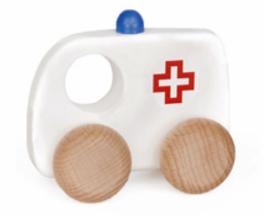 Bajo Houten ambulance klein